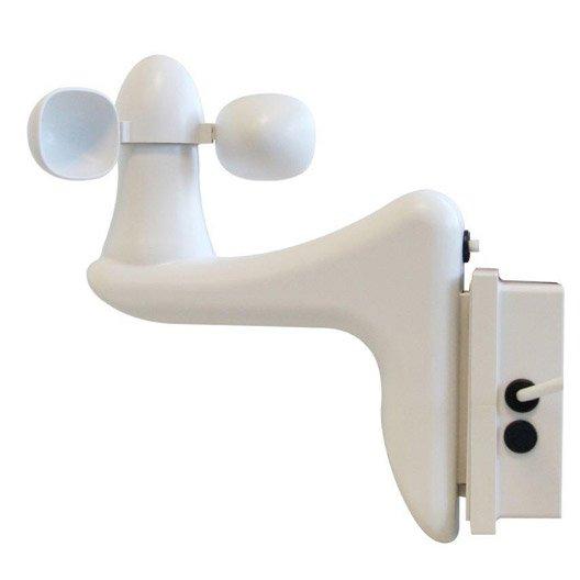kit capteur vent soleil avec t l commande pour store de. Black Bedroom Furniture Sets. Home Design Ideas