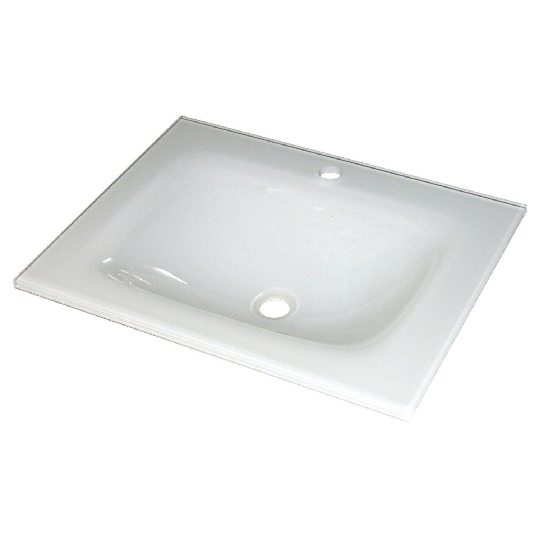 meuble sous vasque fjord verre 60 cm leroy merlin. Black Bedroom Furniture Sets. Home Design Ideas