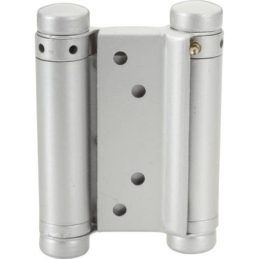 Paumelle acier pour portes va-et-vient HETTICH, L.75 x l.30 mm ...