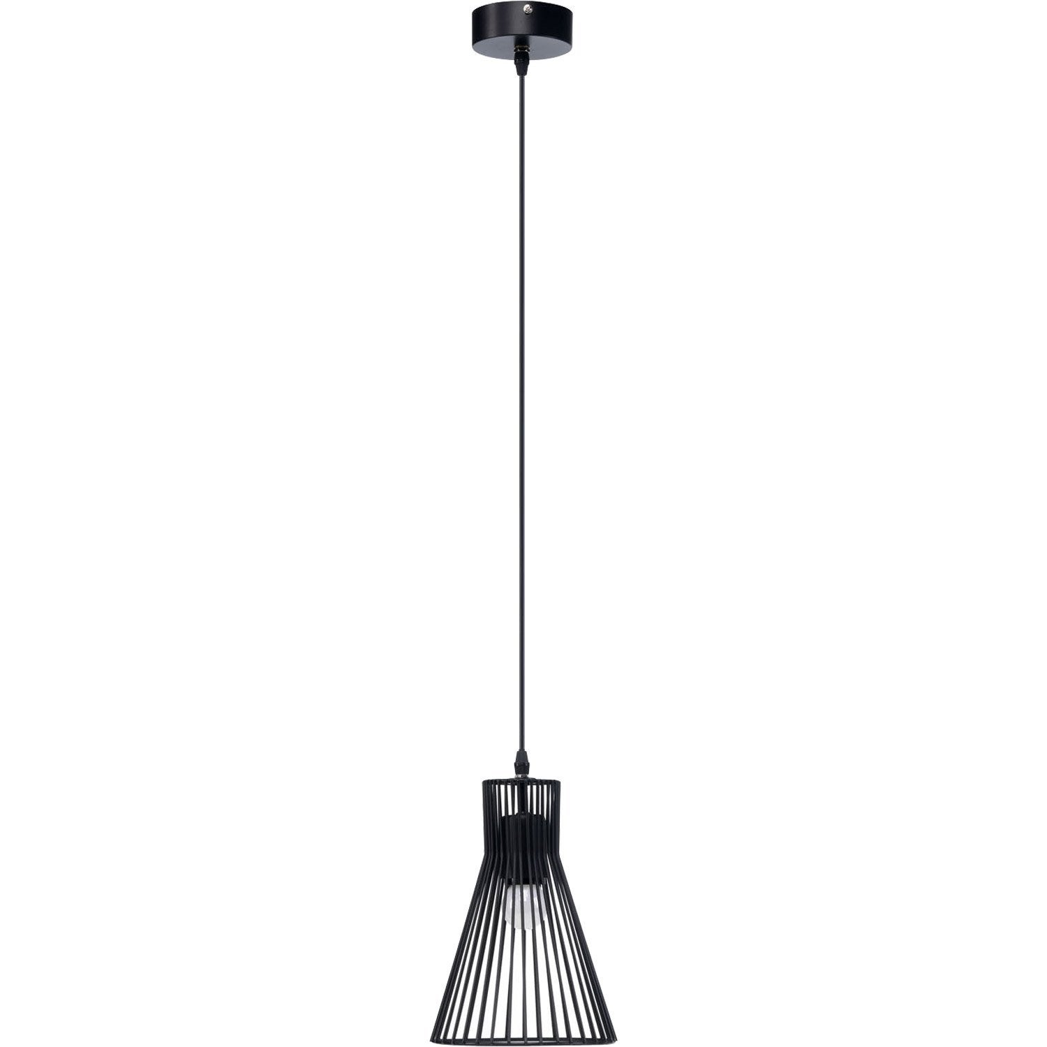 suspension e27 design gael metal noir 1 x 60 w mathias 5 Frais Suspension Noire Cuisine Hgd6