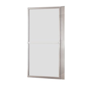 Pare-baignoire 1 volet pivotant H.140 x l.71 cm verre de sécu transparent Lift