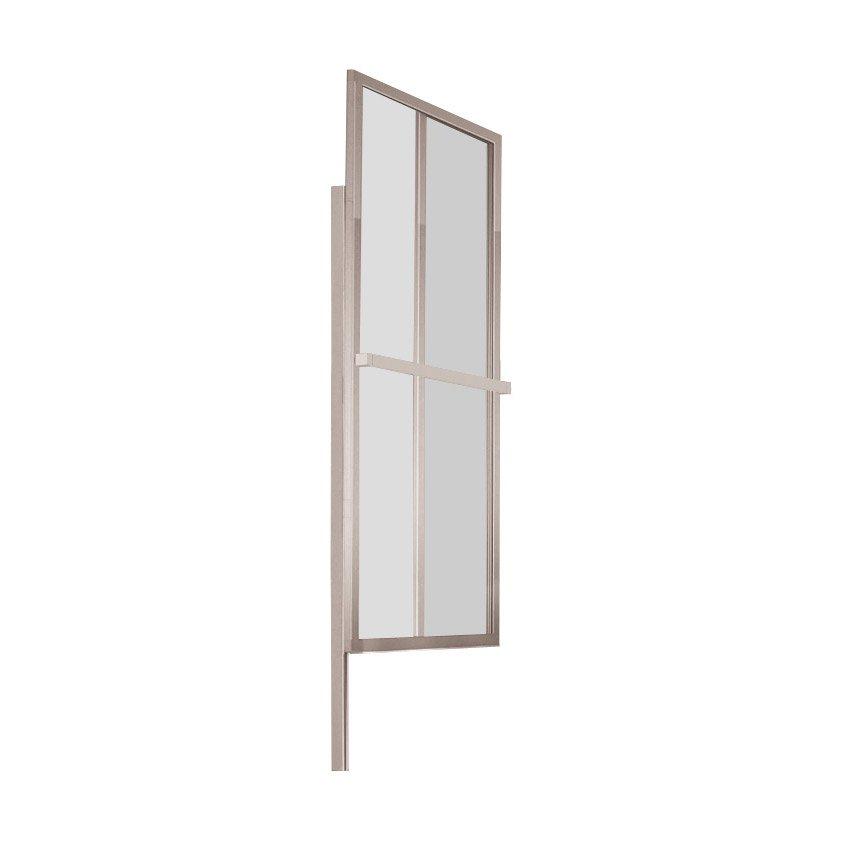 pare baignoire 2 volets pivotant pliant x cm verre transparent lift leroy merlin. Black Bedroom Furniture Sets. Home Design Ideas