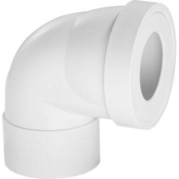 pipe d 39 vacuation de wc fixation pipe et joint de wc au meilleur prix leroy merlin. Black Bedroom Furniture Sets. Home Design Ideas