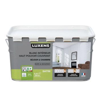Peinture blanche mur, plafond, boiserie - Peinture acrylique et ...