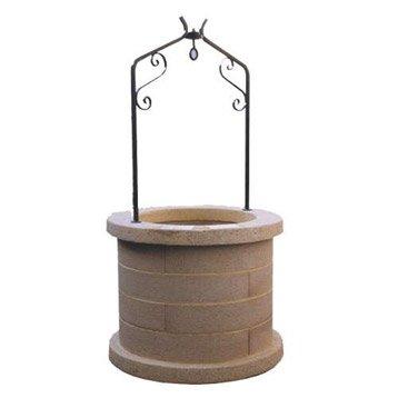 fontaine et cascade d'exterieur - pierre, fonte | leroy merlin