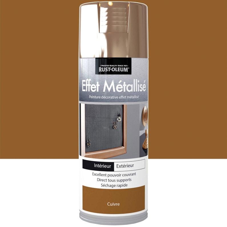 Peinture Aérosol Effet Metallisé Métallisé Rustoleum Cuivre 0 4 L