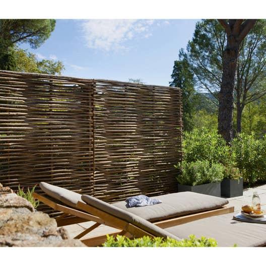 panneau bois ajour cm x cm naturel leroy merlin. Black Bedroom Furniture Sets. Home Design Ideas