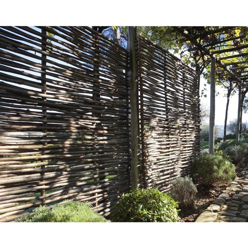 Panneau Bois Ajoure L 150 Cm X H 180 Cm Naturel Leroy Merlin