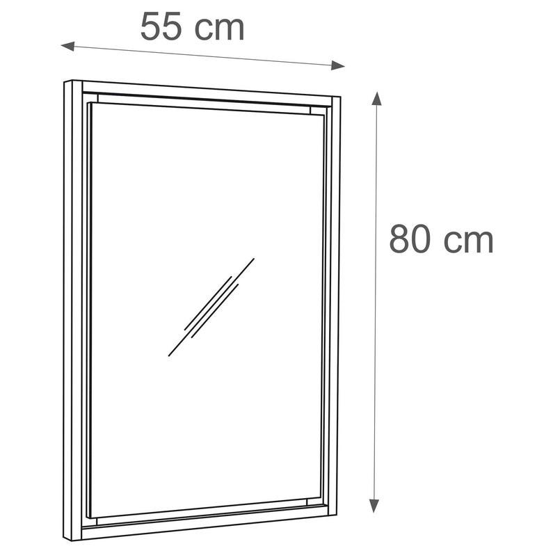 Miroir L 55 Cm Sensea Storm