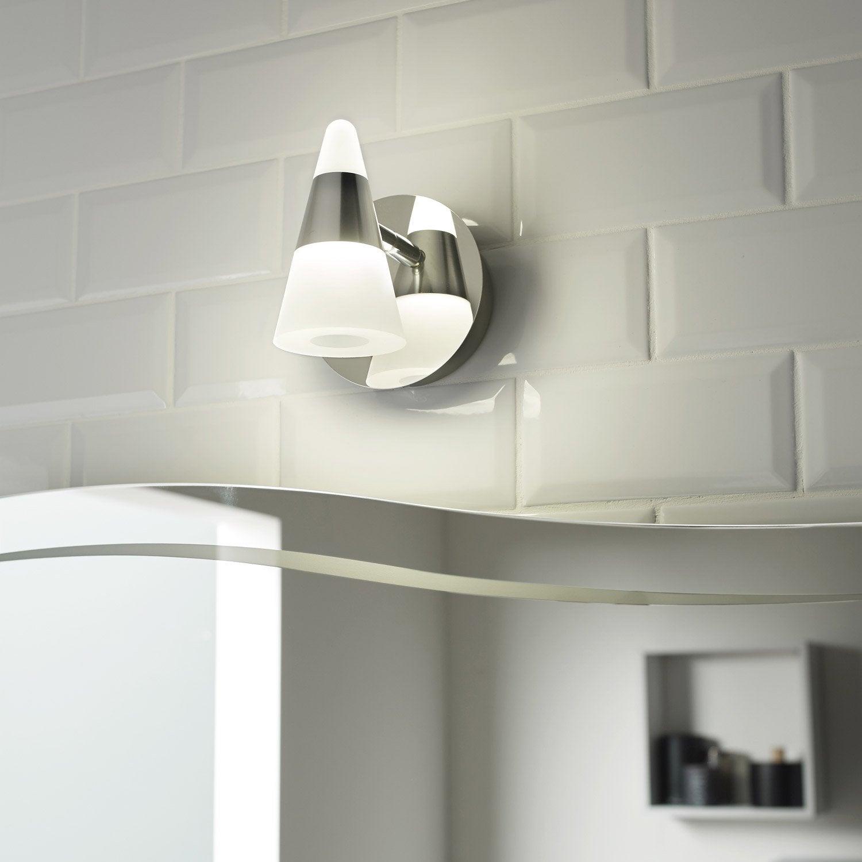 Spot patère Eviz, LED 1 x 7 W, LED intégrée blanc froid
