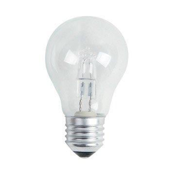 Ampoule standard halogène 46W = 700Lm (équiv 60W) E27 2700K LEXMAN