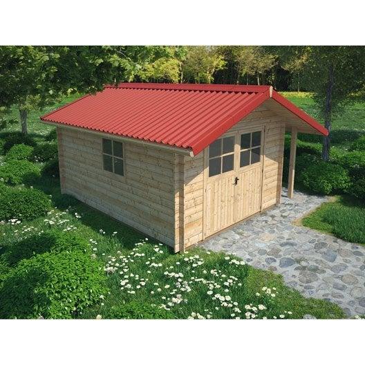 plaque imitation tuile toiture abri de jardin bac acier. Black Bedroom Furniture Sets. Home Design Ideas
