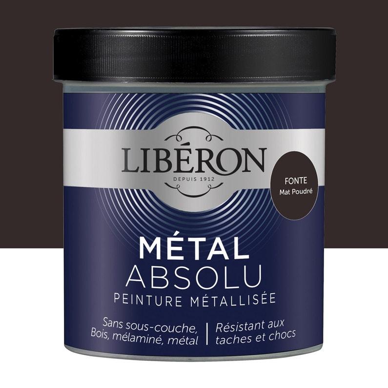 Peinture Meuble Objet Porte Metallise Liberon Metal Absolu Fonte 0 5 L Mat