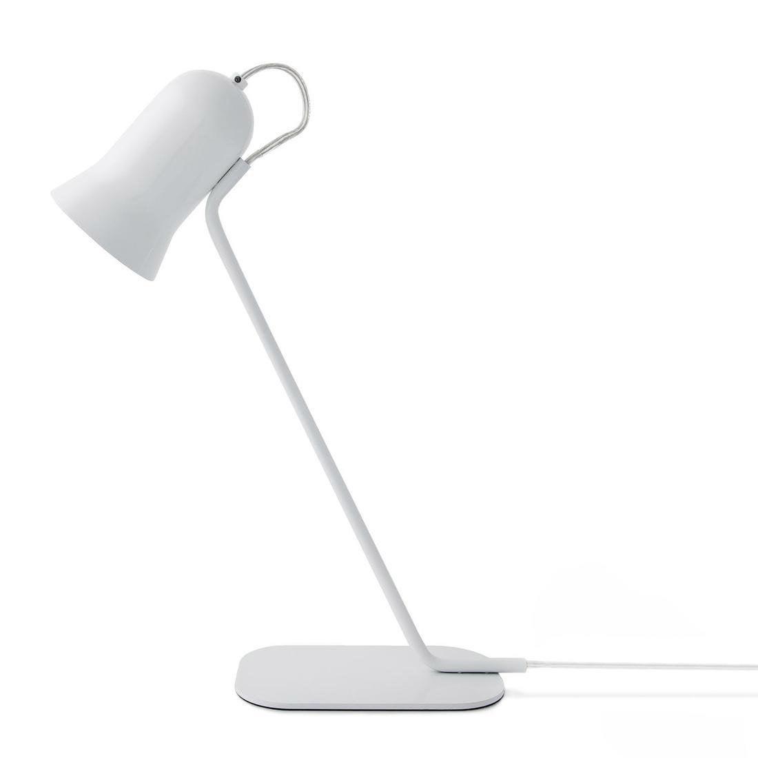 Lampe, design, métal blanc, LO EDITIONS Angly blanc