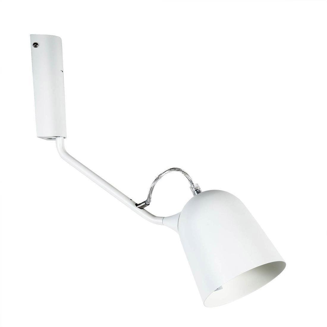 Applique Magnétic orientable l37cm design blanc métal