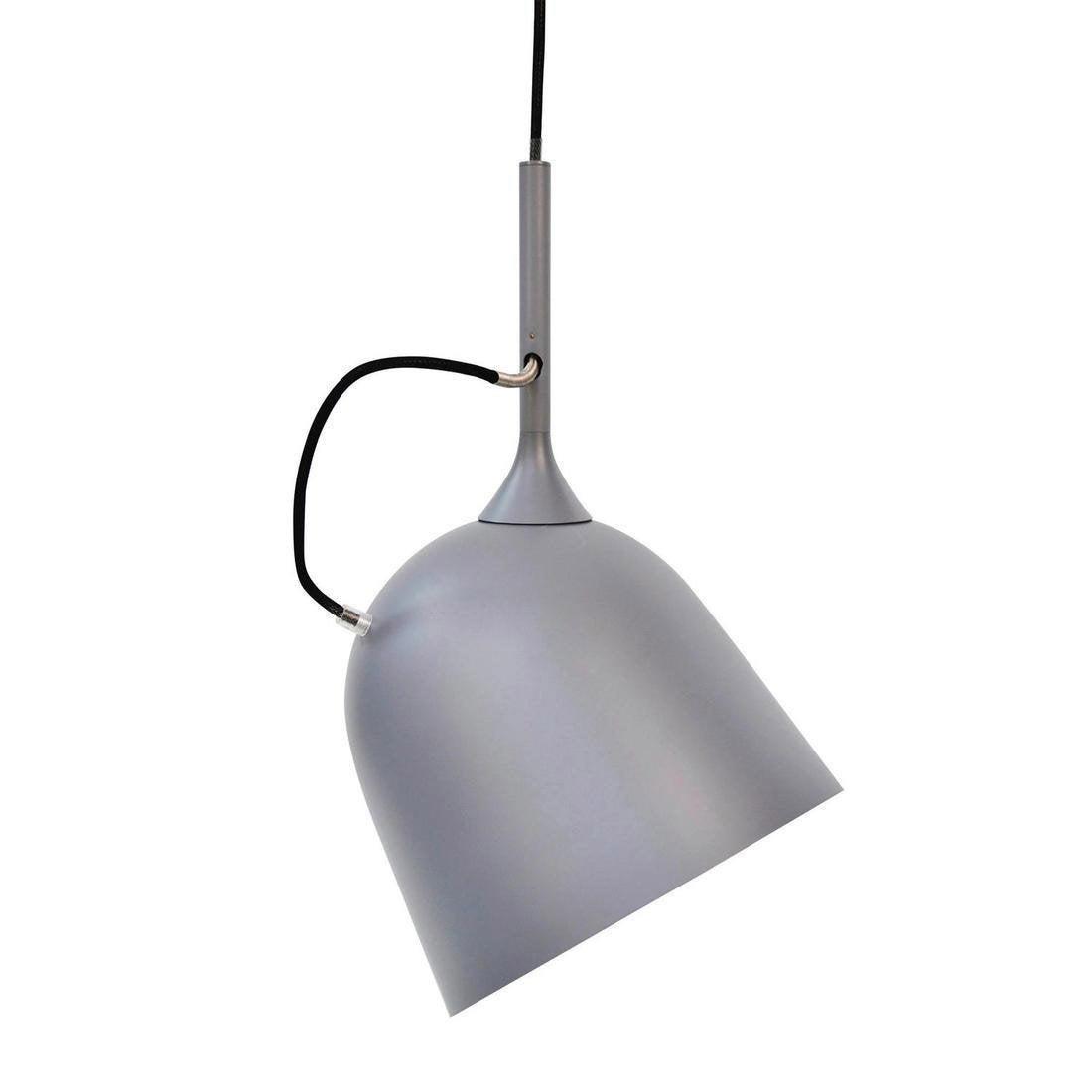 Suspension, design métal gris LO EDITIONS Magnétic 1 lumière(s) D.26 cm