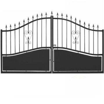 Portail Portail Aluminium Bois Fer Pvc Battant