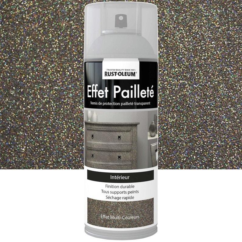 Peinture Aérosol Effet Paillettes Pailleté Rustoleum Multicolore 0 4 L