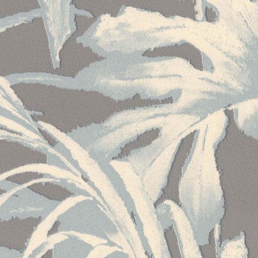 papier peint intiss feuillage vert leroy merlin. Black Bedroom Furniture Sets. Home Design Ideas