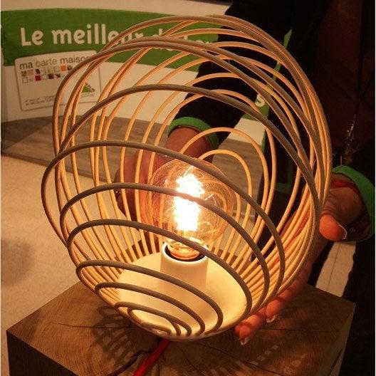 Atelier création : créer une lampe