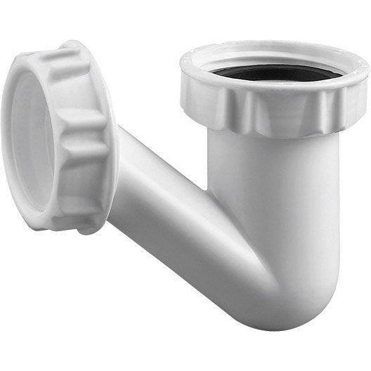 vidage bonde et siphon siphon douche lavabo baignoire leroy merlin. Black Bedroom Furniture Sets. Home Design Ideas