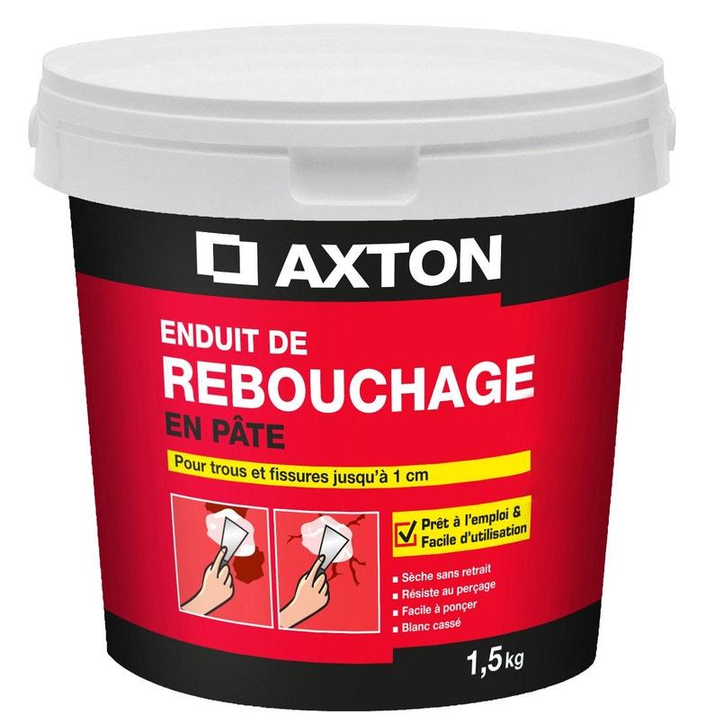 Enduit De Rebouchage Pâte Blanc Axton 15 Kg