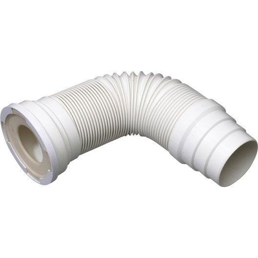 pipe de wc extensible souple diam.10 cm wirquin | leroy merlin