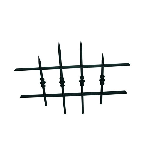 grille de d fense pour oeil de boeuf nordet x cm leroy merlin. Black Bedroom Furniture Sets. Home Design Ideas