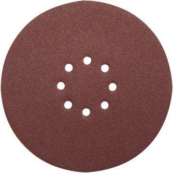 Lot de 6 disques abrasifs REDSTONE, 230 mm, grains 120