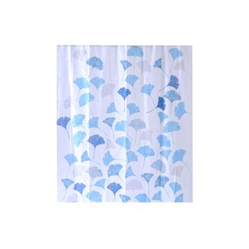 Rideau de douche en textile multicolore l.180 x H.200 cm, Ginko SENSEA