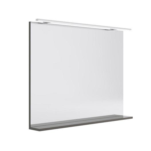 miroir lumineux avec spot x cm opale leroy merlin. Black Bedroom Furniture Sets. Home Design Ideas