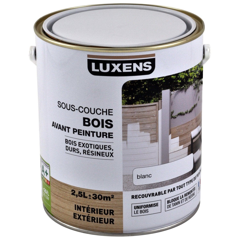 Parfait Sous Couche Bois Intérieur Et Extérieur LUXENS 2.5 L Images