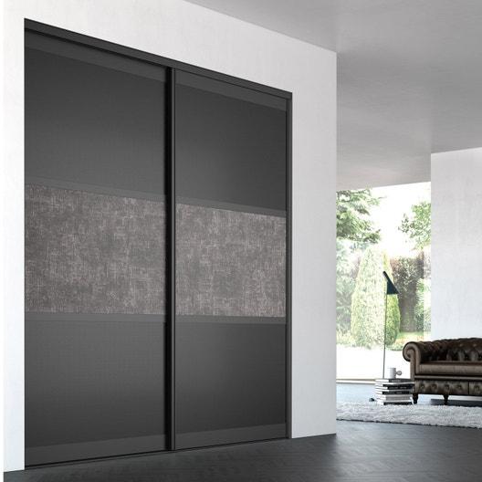 porte de placard coulissante sur mesure iliko trilogy de. Black Bedroom Furniture Sets. Home Design Ideas