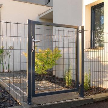 Portillon aluminium, bois, fer, PVC au meilleur prix | Leroy Merlin