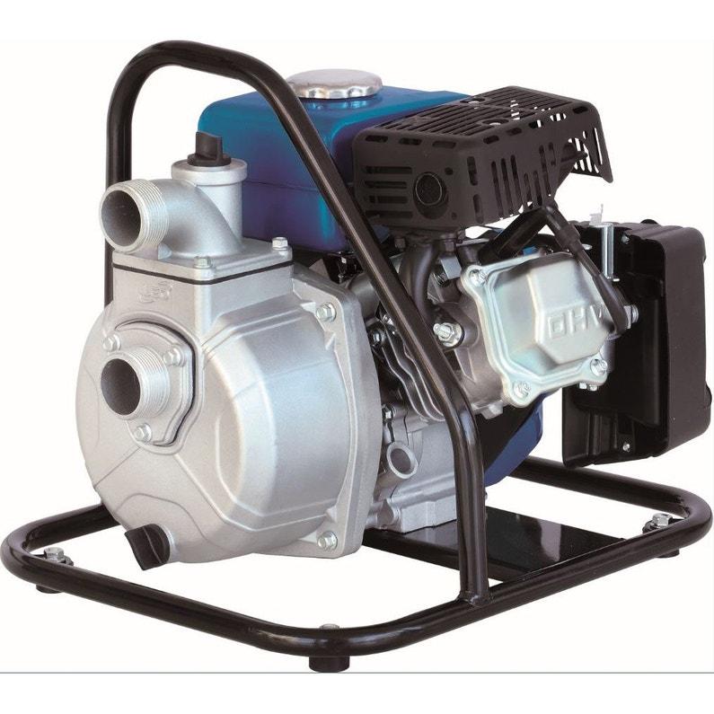 Motopompe Thermique 4 Temps Spido 2820 18000 L H