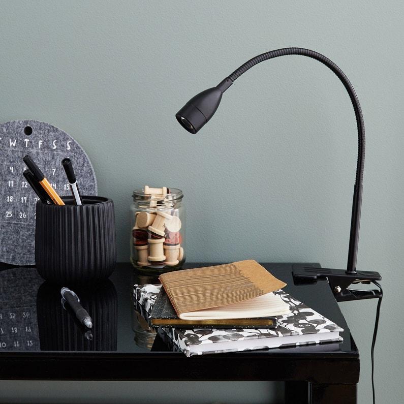 Lampe De Bureau à Pince Essentiel Plastique Inspire Métal Noir 290 Lm