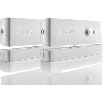 Lot de 2 détecteurs d'ouverture, connecté SOMFY 2400930