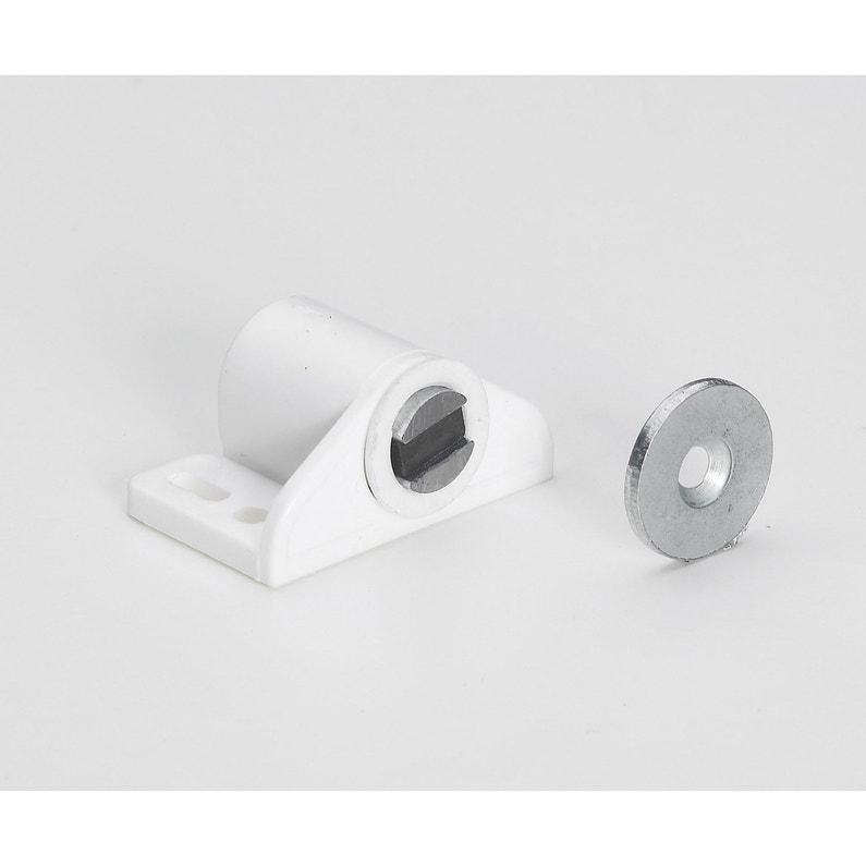 Lot De 2 Aimants Magnétiques Plastique Hettich L 27 X L 33 Mm