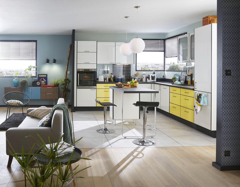 cuisines delinia meubles fonctionnels et tendances leroy merlin. Black Bedroom Furniture Sets. Home Design Ideas