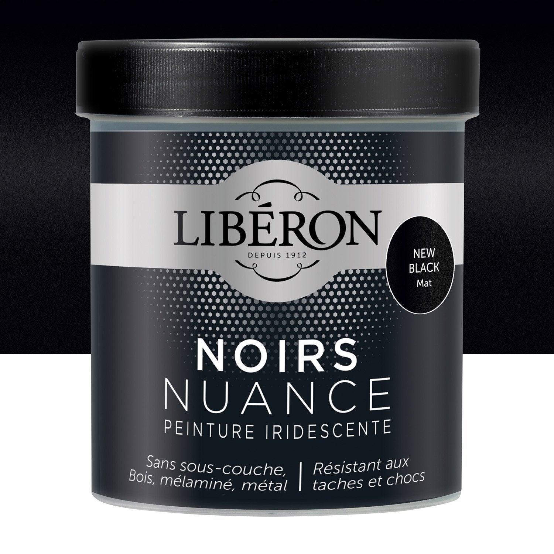 Peinture Pour Meuble, Objet Et Porte, Mat, LIBERON, Noir Nuance, New Photo