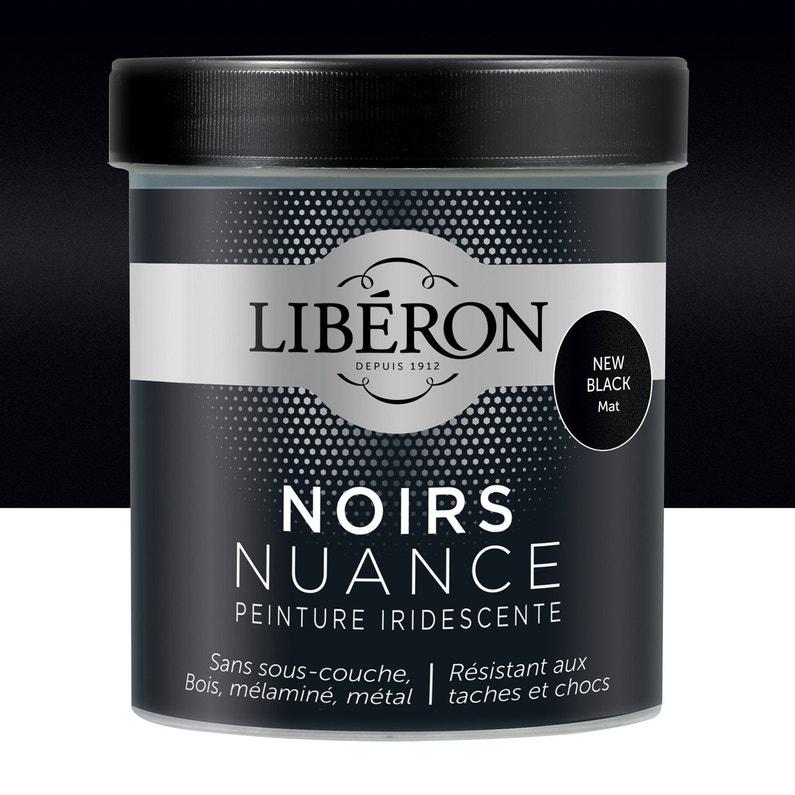 Peinture Pour Meuble Objet Et Porte Mat Liberon Noir Nuance New