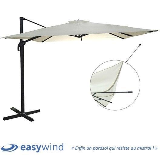 parasol parasol d port de balcon droit au meilleur prix leroy merlin. Black Bedroom Furniture Sets. Home Design Ideas