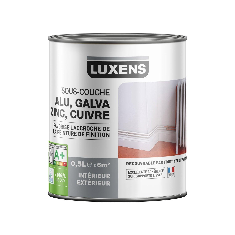 Sous Couche Pvc, Aluminium, Galva LUXENS 0.5 L ...