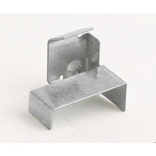 lot de 250 clips lambris isover leroy merlin. Black Bedroom Furniture Sets. Home Design Ideas