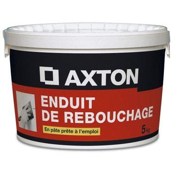 Enduit De Rebouchage Platre Axton Pate 5kg Leroy Merlin