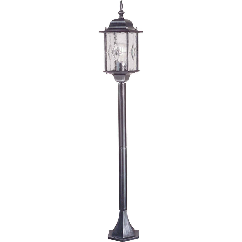 Lampadaire extérieur E27 max 100W noir Wexford ELSTEAD