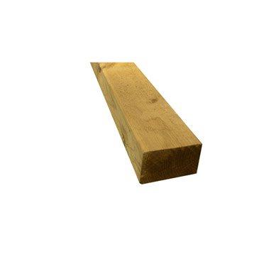Lambourde Pour terrasse bois résineux Kuhmo, vert , L.3 m x l.7 cm x Ep.47 mm