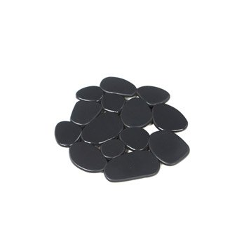Tapis antidérapant gris pour baignoire / douche, Stone SENSEA