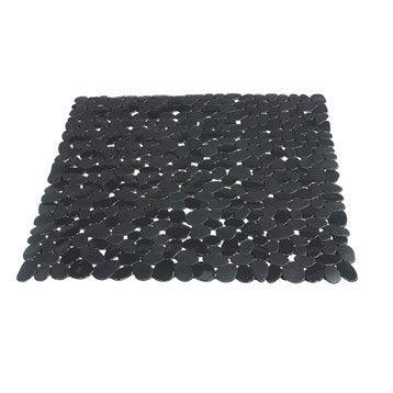 Tapis antidérapant gris pour douche, Stone SENSEA