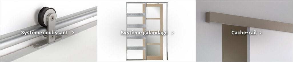Systeme Coulissant Systeme Galandage Rail Porte Coulissante Cache